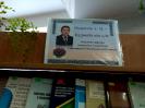 Книжкова виставка-привітання Онишківу З. М.